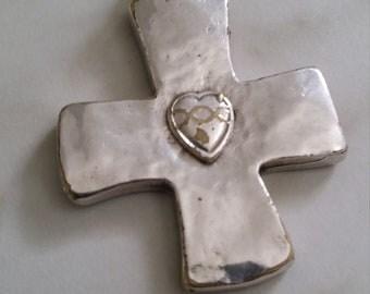 Handmade rare religious pendant