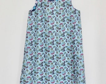 Annie Reversible Pinafore Dress - Age 6