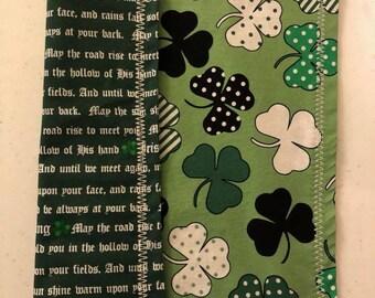 Irish Blessings Handkerchief