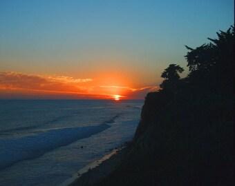 Pacific Sunset, from Santa Barbara's Shoreline Park