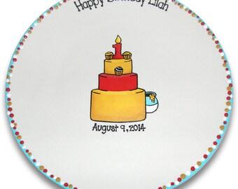 Classic Winnie Inspired 1st Birthday Signature Platter