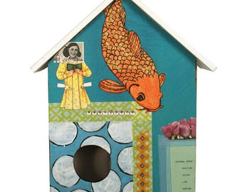 Fish - A Medium Collage House