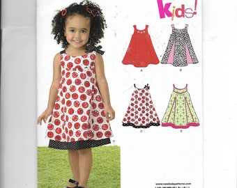 New Look Toddlers' Dress Pattern 6974