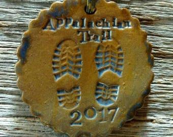Appalachian Trail 2017 AT Medallion/Ornament