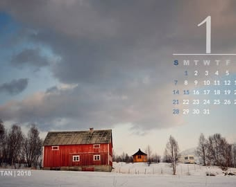 2018 photo calendar 4x6