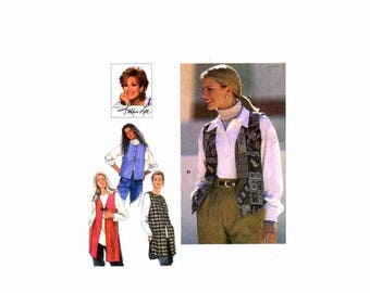SALE Womens Set of Vests Kathie Lee Simplicity 9742 Sewing Pattern Full Figure Size 18 - 20 - 22 - 24 Bust 40 - 42 - 44 - 46 Uncut