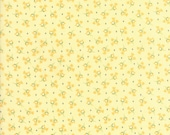 """23"""" piece/remnant - Pepper and Flax - Tulip in Flax Yellow: sku 29043-15 cotton quilting fabric by Corey Yoder for Moda Fabrics"""