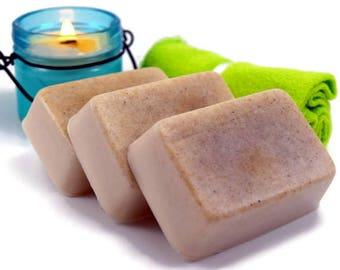 Oatmeal Tea Tree Facial Soap, All Natural Facial Soap