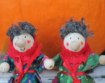 Kitchen Witch / Strega - Kitchen Witch doll -  2 Sisters