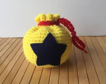 Bell Bag Pouch - Animal Crossing Inspired Bag