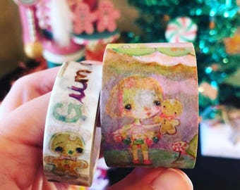 Goodie Gumdrops - washi tape pack of 2