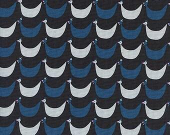 Cotton + Steel Welsummer - flock - black - 50cm - PRE-ORDER