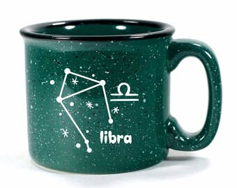 Libra Zodiac Constellation Mug - Choose Your Cup Color