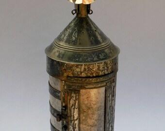 Antiqued English Ship Lantern