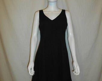 Closing Shop 40%off SALE Nicole Miller Dress - 1990s Little Black Dress - 90s designer Dress