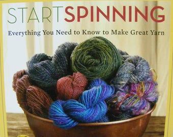 Start Spinning, Maggie Casey, book, instruction book, guide to making yarn, spinning, yarn, fiber,  Threadsthrutime,