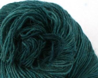 Olana fingering weight cormo alpaca angora blend yarn 300yds/274m 2oz/57g Racing Green