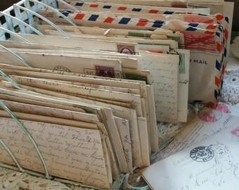 Six Vintage Letters..1930..1940