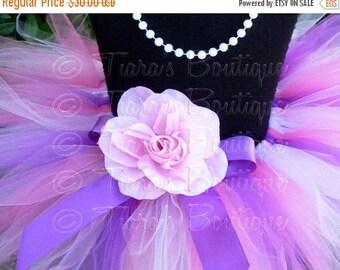 SUMMER SALE 20% OFF Pink Tutu, Lavender Tutu, Girls Tutu, Baby Tutu, Pink Purple Lavender Tutu, Birthday Tutu, Berry Lovely, 11'' Pixie Tutu