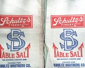 Pair of Vintage Salt Sacks