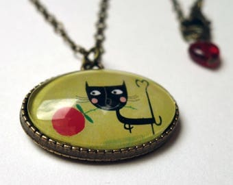 Oval necklace Albertin COO001B