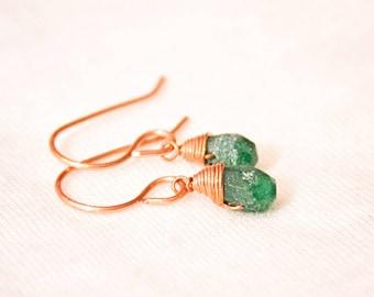 Wire wrapped earrings, gemstone earrings, agate stone, wire wrapped stone, quartz earrings, gemstone jewelry, dangle earrings,agate earrings