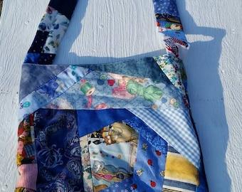 Scrappy Cross Body Handbag