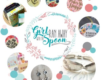 Girl Ran Away With the Spoon Spring Nurture Collection Box