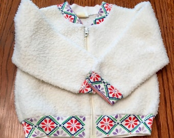 70s Carters Jacket 12/18 Months