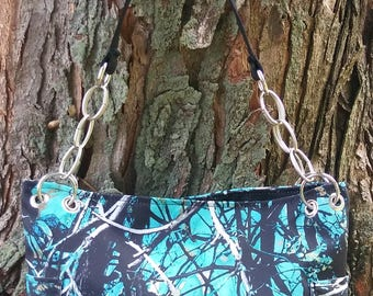 Moonshine Camo-Serenity Purse Handbag Tote
