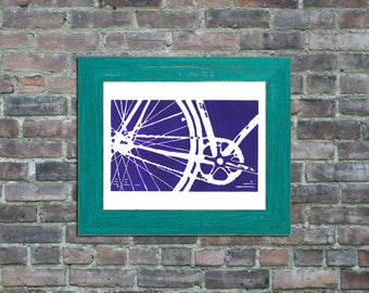 bicycle bike art framed print home decor nursery wall art childrens art MORE COLORS AVAILABLE fathers day brother boyfriend mens gift