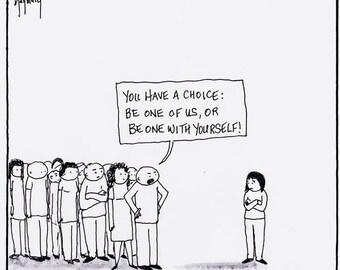 The Choice CARTOON