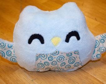 Plush Owl, stuffed animal, plushie, toy, owl