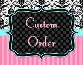 Custom Order for Scalien Miler
