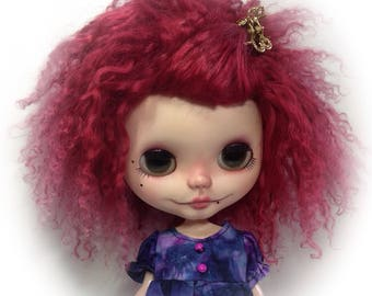 Ooak ..gorgeous bLYTHE wig ..or ( SD 10 )..mongolian fur