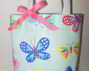 Spring Butterflies Tote Bag