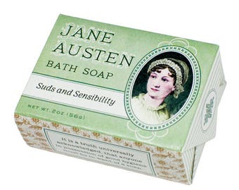 Jane Austen Bath Bar Soap