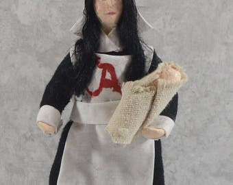 Hester Prynne Doll Nathaniel Hawthorne The Scarlet Letter Collectible Literary Figure