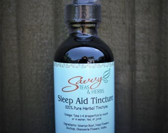 Sleep Aid Tincture 2 oz.  100% Pure For Insomnia
