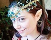 ON SALE Springtime Princess Elven Wedding Circlet tiara