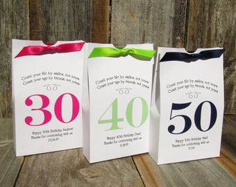 Adult Birthday Party - Adult Birthday Favor - Adult Party Favors - Adult Favor Boxes - Adult Party - Custom Favor Boxes