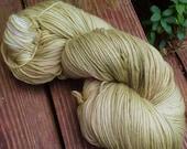 Iron Sage II - NEW hand dyed sock yarn, superwash super soft Merino wool blend 462 yards 100 grams, natural dye