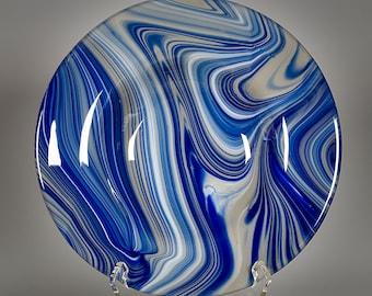 Fused Glass Lawn Ornament - BluDragonfly SRA - Lawn Ornament