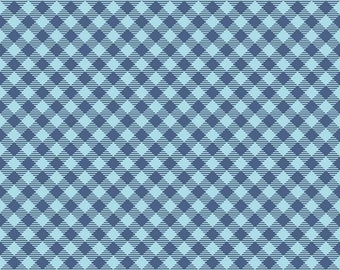 Bee Basics By Lori Holt Gingham Blue (C6400-Blue)