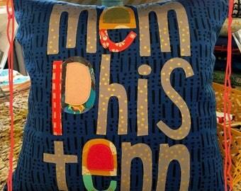 Memphis Tenn pillow