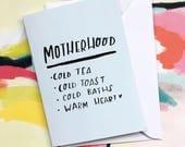 Motherhood card cc264