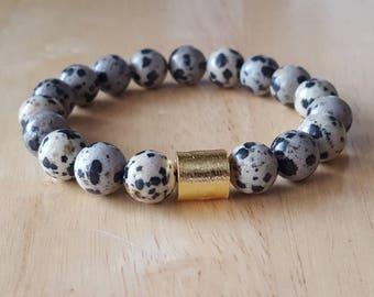 boho jewelry, jasper bracelet, mala beads bracelet, yoga gifts for women, mothers day gift mom gift, gemstone bracelet,  stackable bracelets