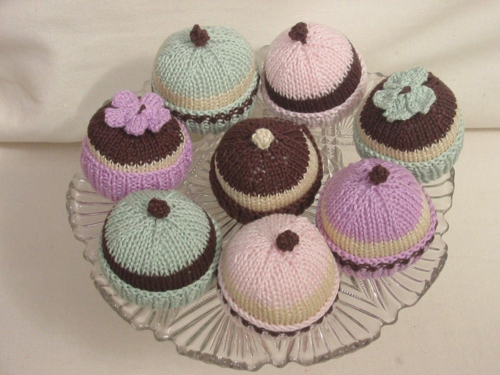 Instant download pdf knitting pattern cupcake fairy cake easy this is a digital file bankloansurffo Image collections