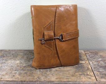 Saddle Brown Leather Sketchbook - MD