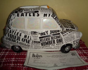 FAB Beatles English Taxi Cab cookie jar